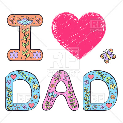 400x400 I Love Dad