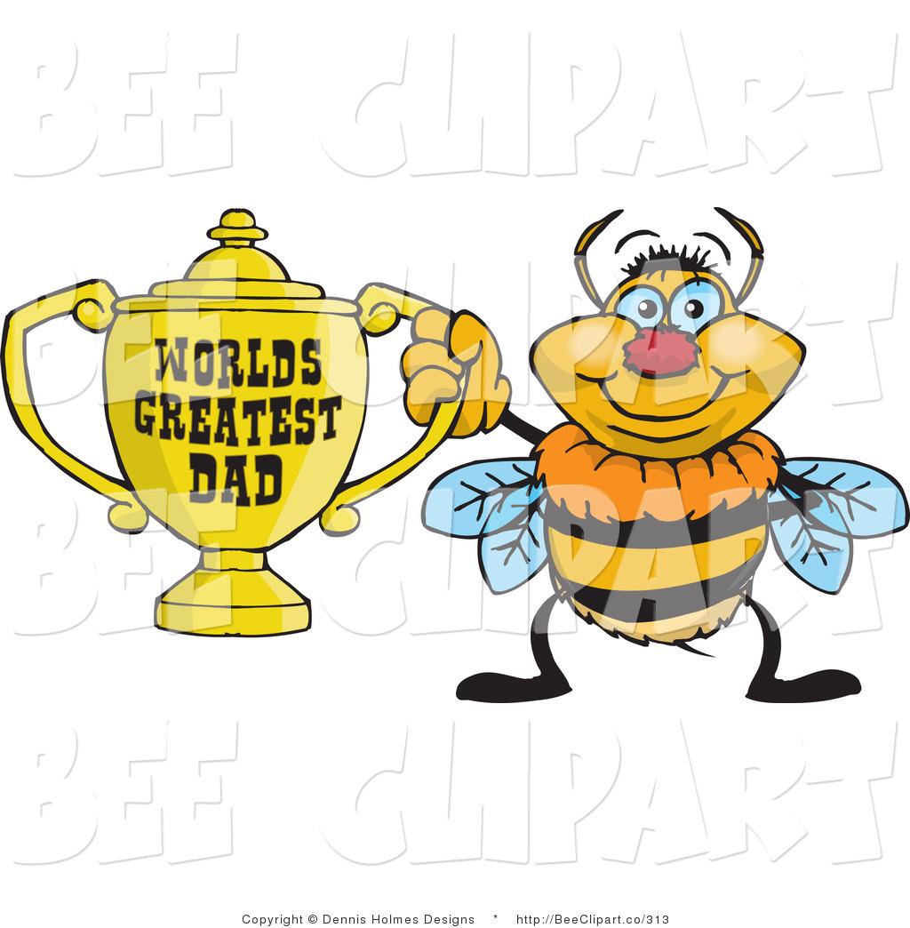 1024x1044 Cartoon Vector Cliprt Of Yellow Bumble Bee Character Holding