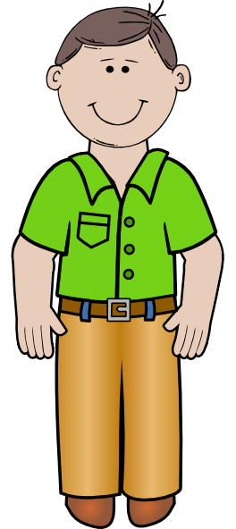 264x592 This Clip Art Of Dad Is Clipart Panda