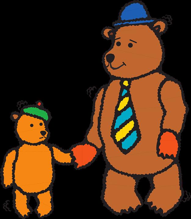 626x720 Cub Clipart Daddy Bear