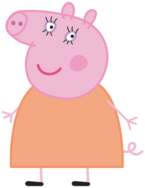 463x600 Daddy Pig Clipart
