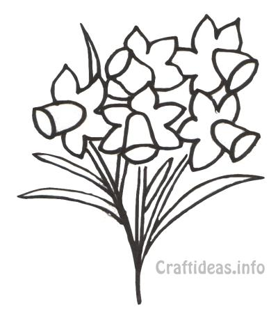 400x464 Free Spring Coloring Page For Kids