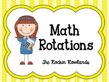 350x263 Daily 5 Math Rotation Labels By The Rockin Rowlands Tpt