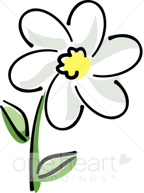 290x388 Daisy clipart single flower