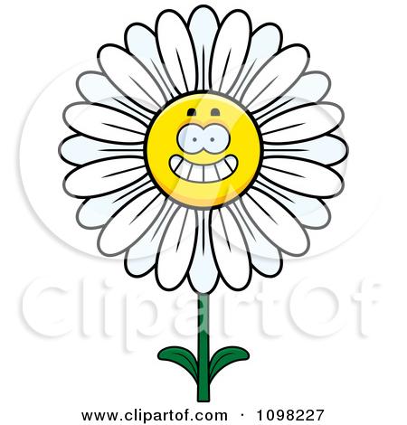 450x470 Clip Art Daisy