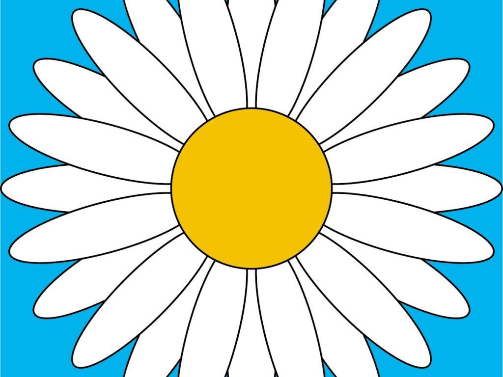 1024x768 Daisy Clip Art