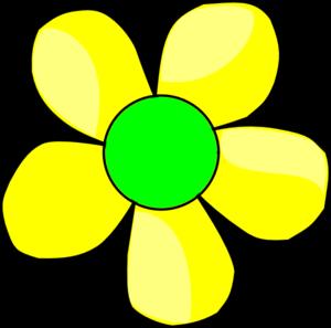 300x297 Petal Clipart Yellow Daisy