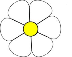 236x188 Daisy Clipart Simple Flower