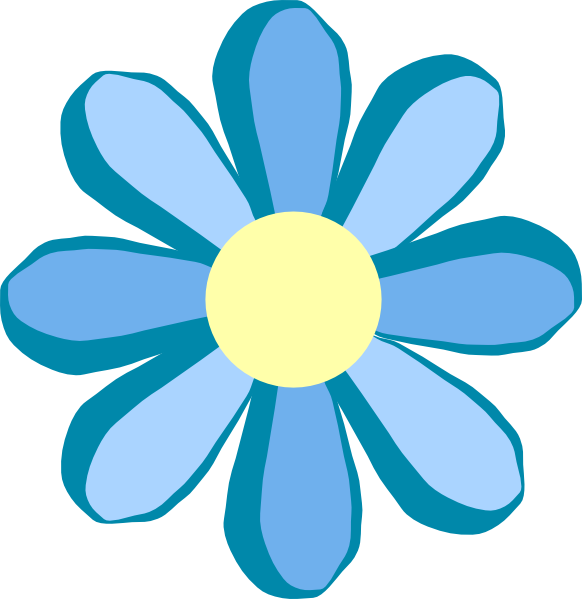582x599 Daisy Flower Clip Art Free Vector For Free Download About Image