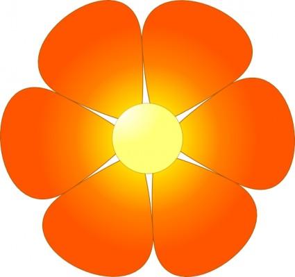 425x399 Spring Flower Clip Art