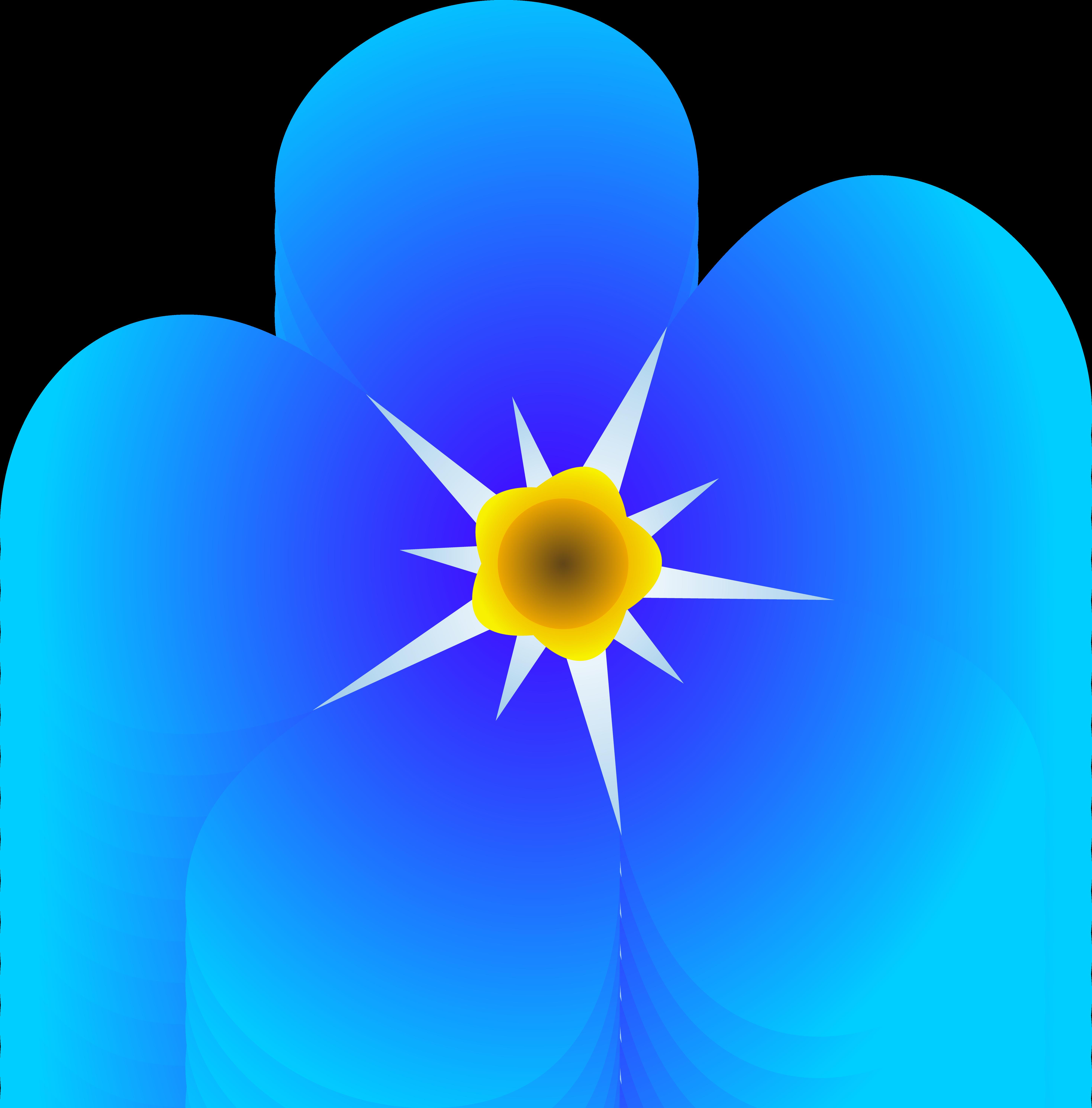 5874x5959 Clip Art Flowers