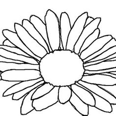 236x236 Daisy Flower, Daisy Flower Outline Coloring Page Daisy'S