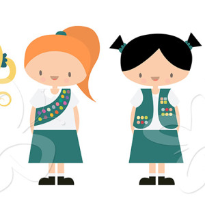 300x300 Girl Scouts Of The Philippines Clip Art