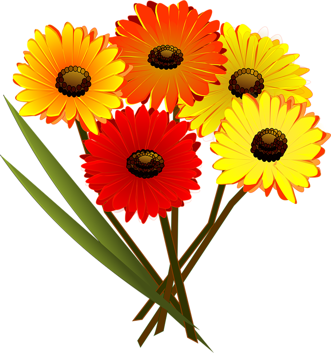 676x720 Daisy Clipart Flower Bouquet