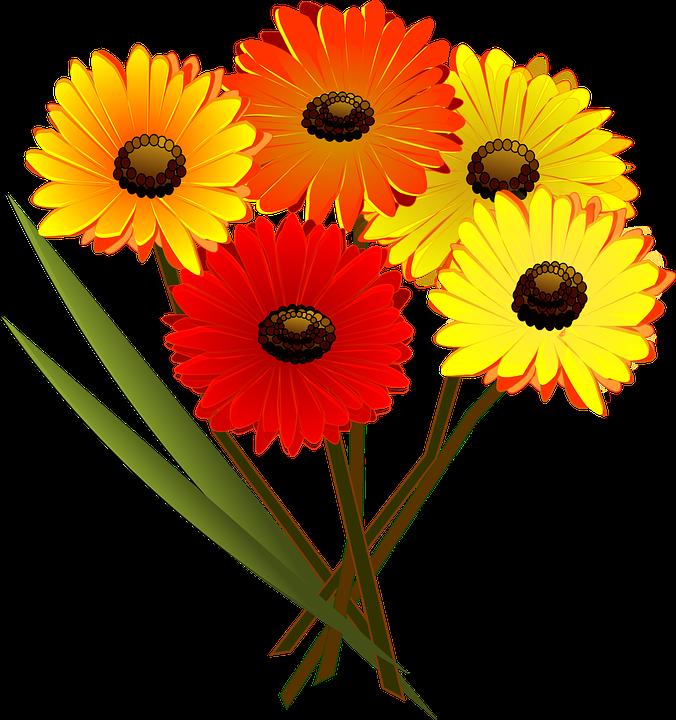 676x720 Daisy Clipart Flower Bouquet