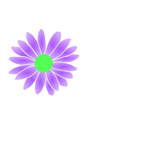 300x300 Purple Daisy Clipart, Cliparts Of Purple Daisy Free Download (Wmf