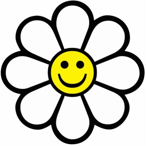 512x512 Smiley Daisy Photo Cutouts