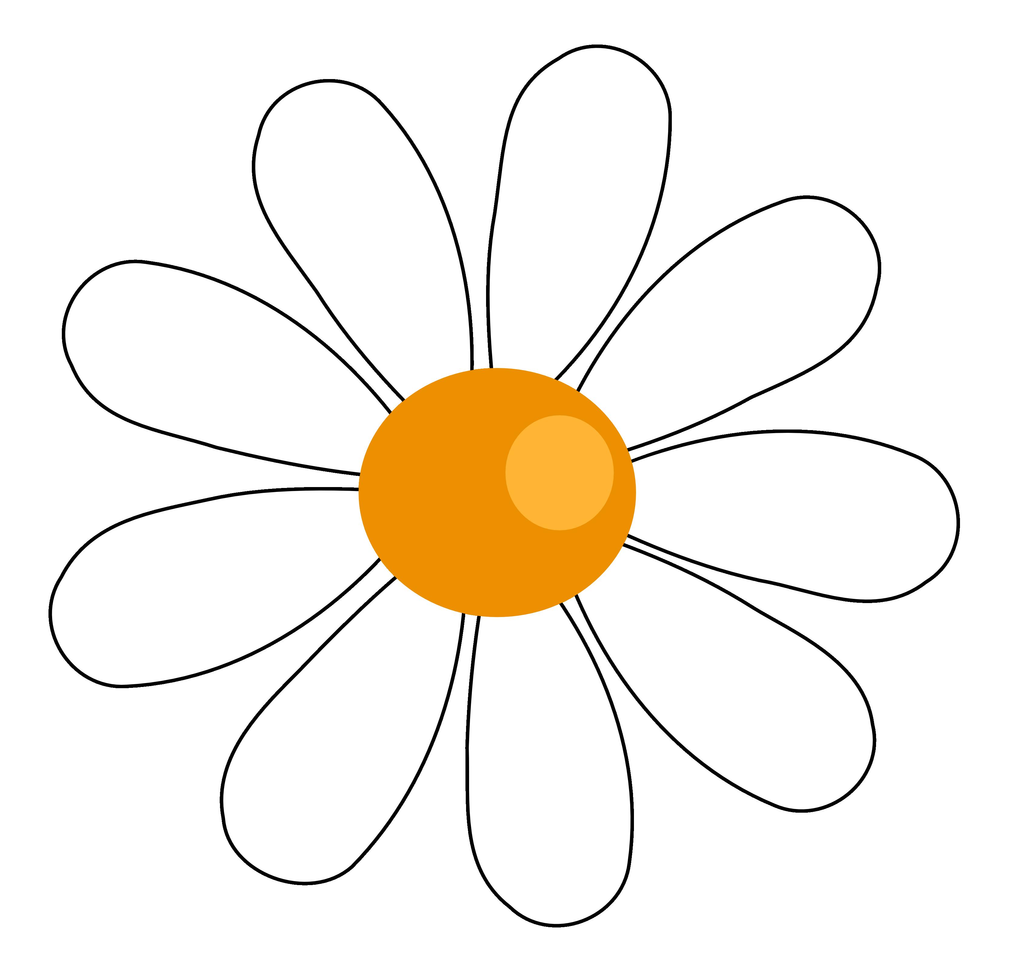 3333x3176 Daisy Flower Clipart