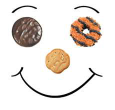 231x220 Girl Scout Cookie Clipart Many Interesting Cliparts