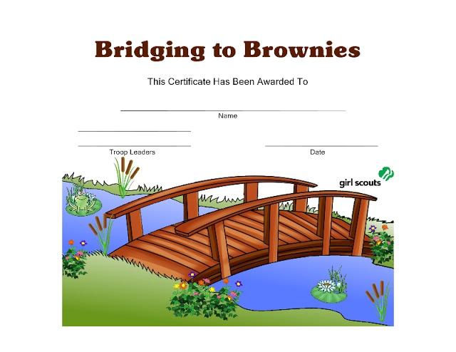 640x494 Bridging Clipart Girl Scout