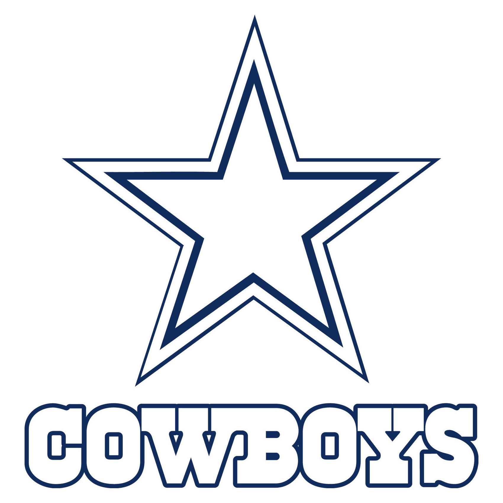 1700x1700 Dallas Cowboys Logo, Dallas Cowboys Symbol Meaning, History