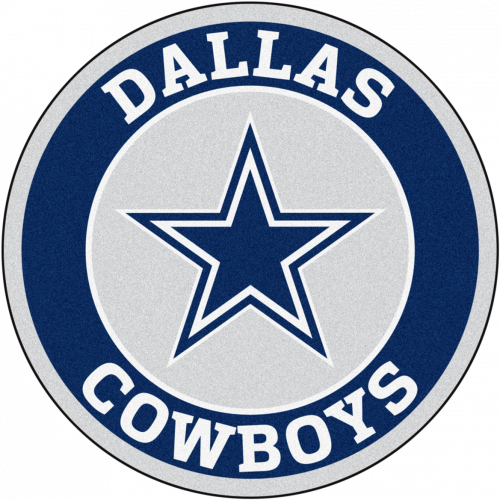 500x500 Dallas Cowboys Rounded Logo Wallpaper In Png Hd Wallpapers