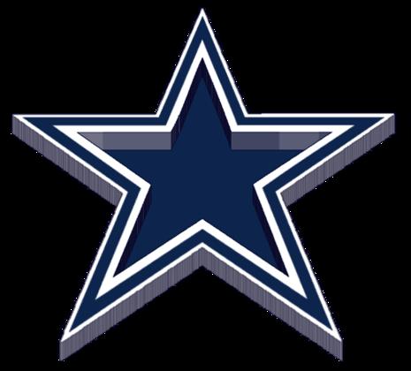 465x420 Blue Dallas Cowboys Logo