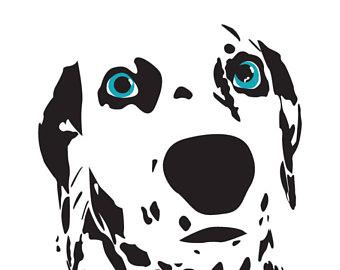 340x270 Dalmatian Spots Art Etsy