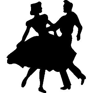 300x300 Clip Art People Dancing Clipart Image