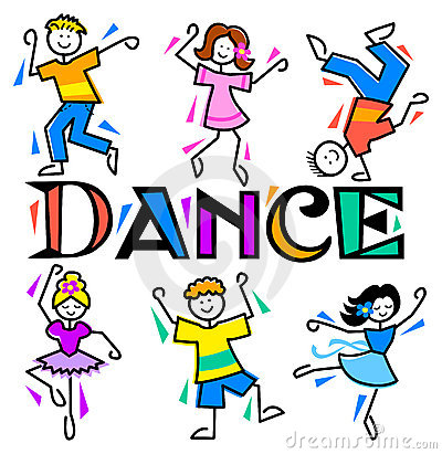 400x411 Kids Dancing Clip Art