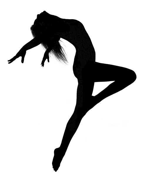 500x600 Dancer Clipart Silhouette Free Clipart Images Clipartcow
