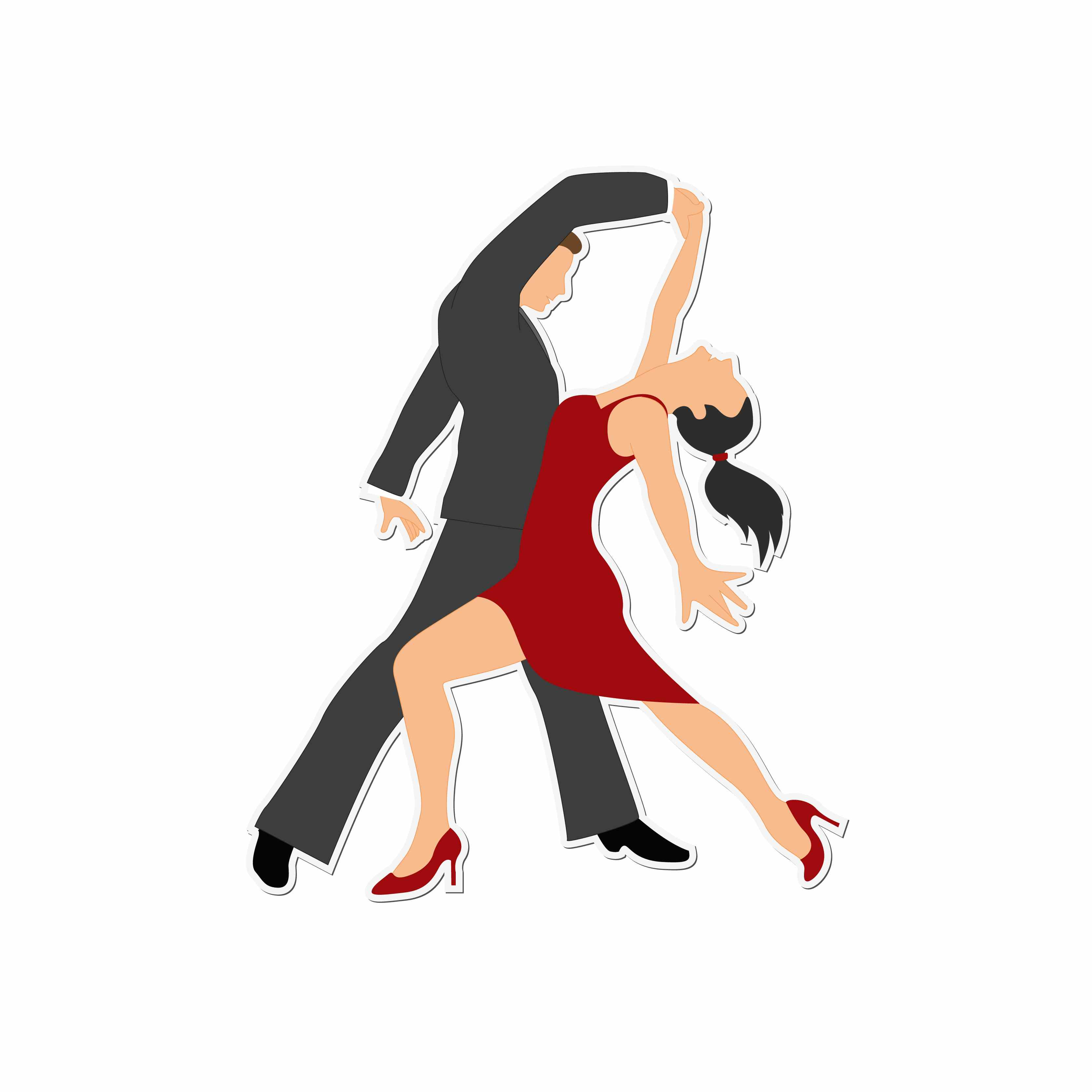 3333x3333 Dancing Dance Clip Art Black And White Free Clipart Images Image