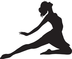 300x245 Ballet Dancer Clipart Illustration Of A Ballet Dancer. Clipart