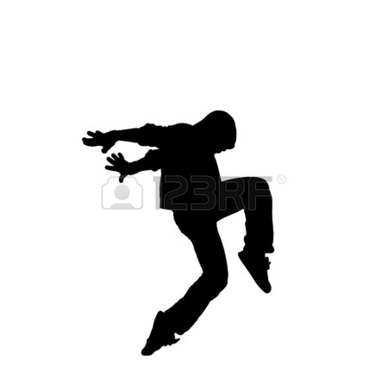 1350x1338 Improvisation Hip Hop Dance Silhouette Free