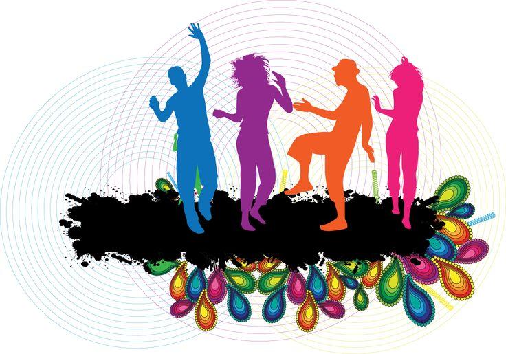 736x515 Dance Party Clip Art