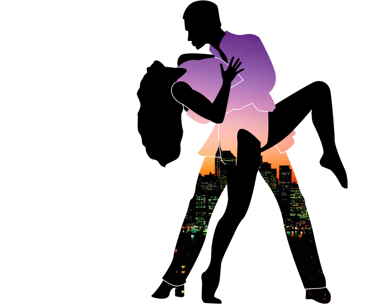734x597 Latin Clipart Salsa Dance