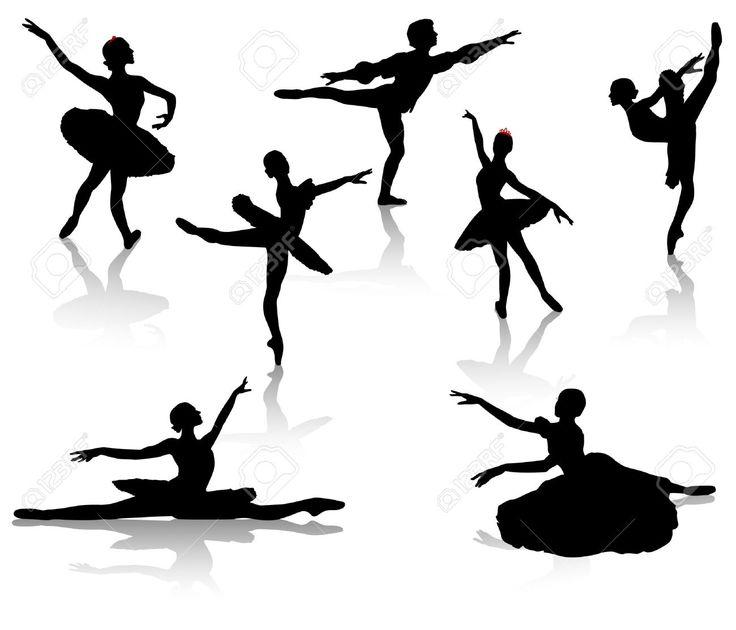 Dance Leap Silhouette