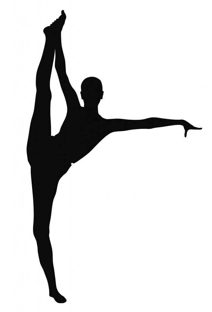 695x1024 Clipart Dance Splits