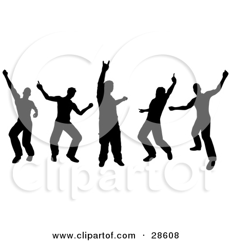 Dance Party Clipart
