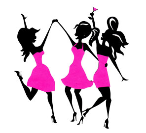 296x271 Girls Night Out Clipart