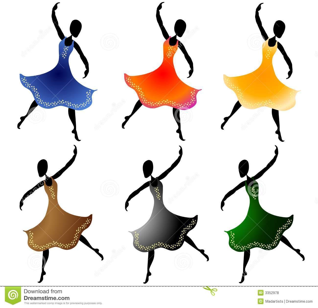 1300x1260 Dance Clip Art Various Women Dancing Clip Art