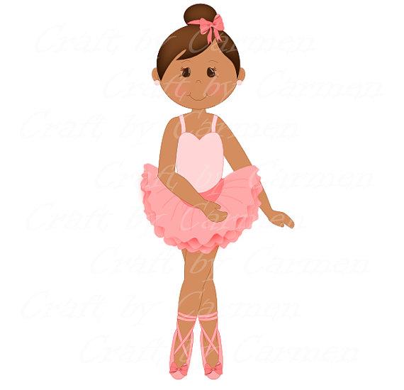 570x550 Ballerina Clip Art Dancer Ballet Digital Art By Craftbycarmen My