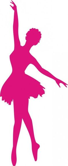 236x575 Clip Art Illustration Of A Silhouette Of A Ballet Dancer Lunging
