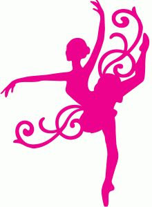 220x300 Free Printable Kids Dance Silouttes Silhouette Sport Dance Stock