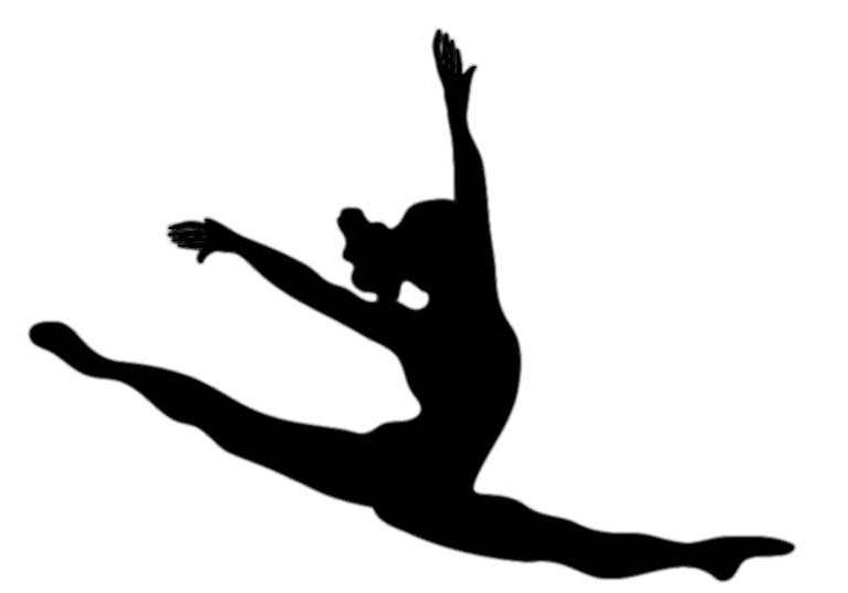 767x536 Dance Team Clipart