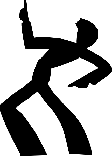 432x600 Dance Silhouette Clip Art Dromffm Top