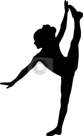 276x450 Silhouette Of Dancers Clip Art Clipart