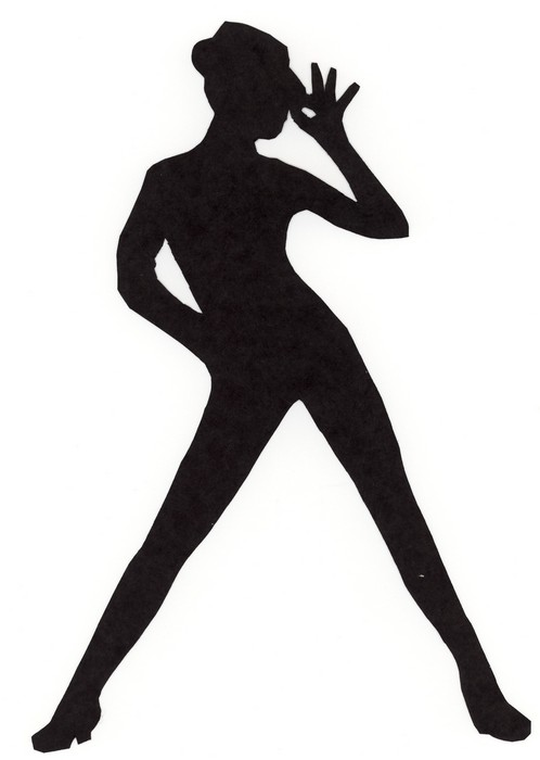 498x700 Tap Dancer Silhouette Free Clipart Images