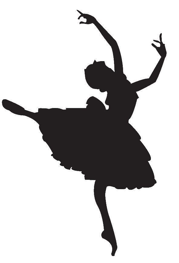 592x869 Ballet Dancer Clipart Silhouette Panda Free Images