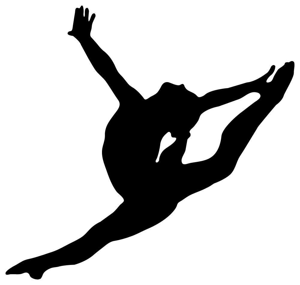 1000x951 Gymnastics Silhouette Clip Art Many Interesting Cliparts